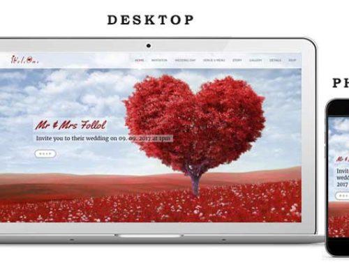 Сватбен Уеб Сайт 7