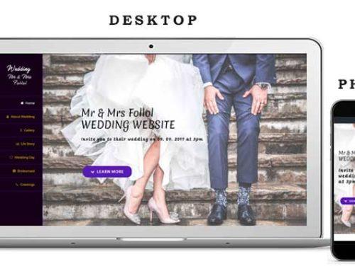 Сватбен Уеб Сайт 2