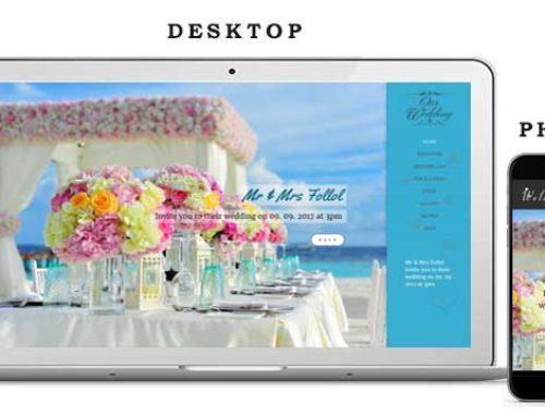 Сватбен Уеб Сайт 5