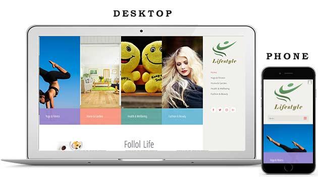Lifestyle Website