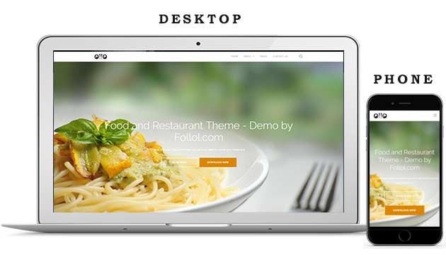 Restaurant Simple Website