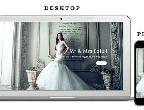 Сватбен Уеб Сайт 1