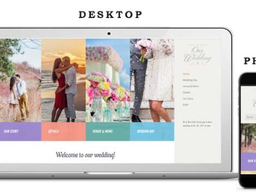 Wedding Website 3