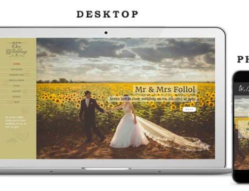 Wedding Website 4