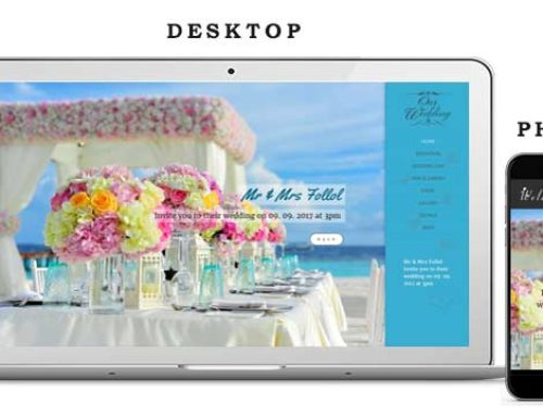 Wedding Website 5