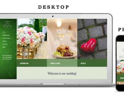 Wedding Website 8