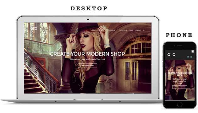 Modern Online Store