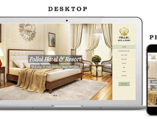 Hotel Website 2