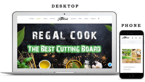 Portfolio Web Design - Regalcook